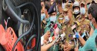 সিলেটে মোটরবাইকে বোমাসদৃশ বস্তুটি গাইন্ডিং মেশিন
